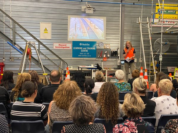 Women urged to consider careers in construction industries
