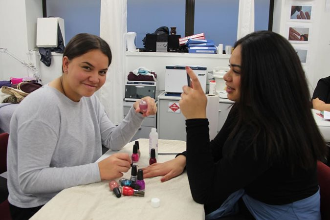 Beauty therapy is tops for high school girls