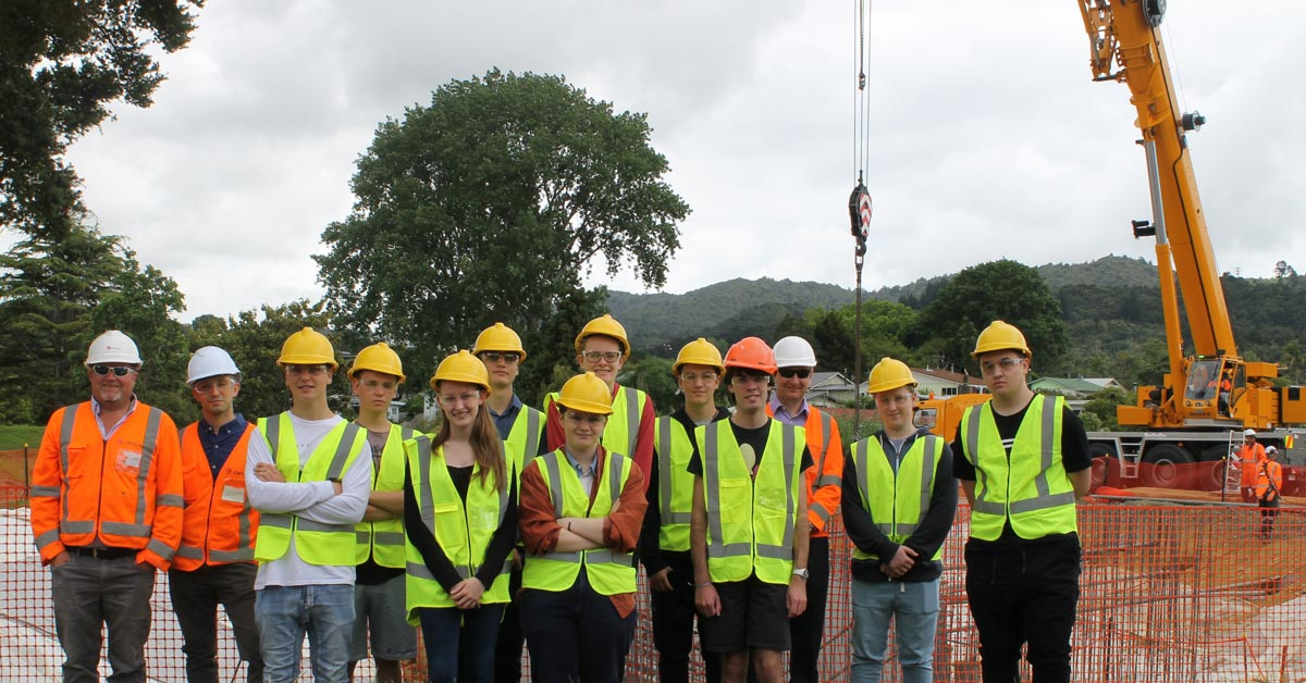 Engineering site visit inspires students