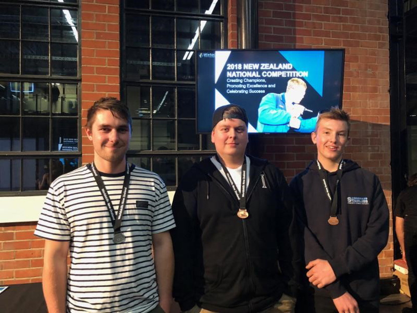 NorthTec students successful at WorldSkills competition