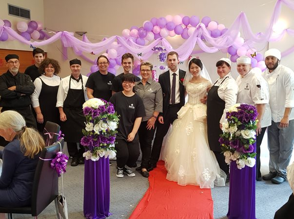 NorthTec wedding is a match made in hospitality