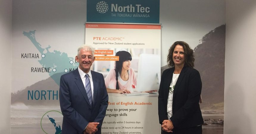 NorthTec Becomes First Pearson English Testing Centre in NZ