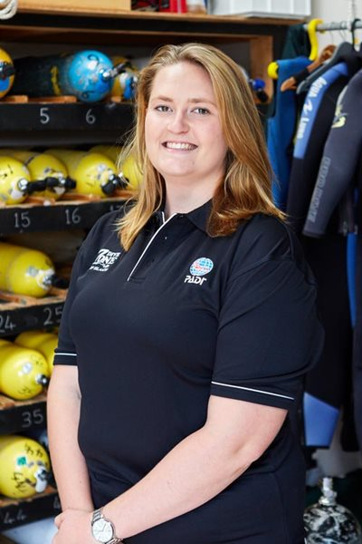 Laura Stanley - Dive Instructor