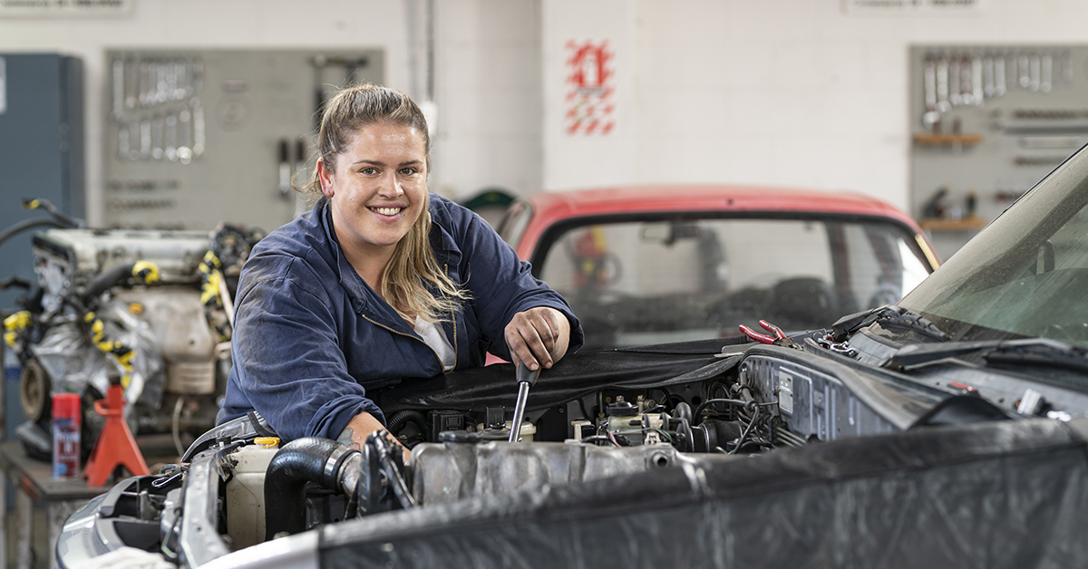 New Zealand Certificate in Automotive Engineering (Level 3
