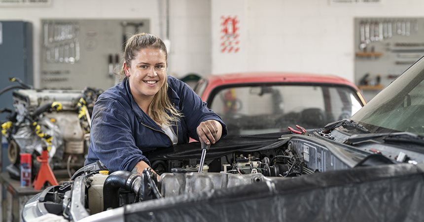 Automotive Students Pay it Forward