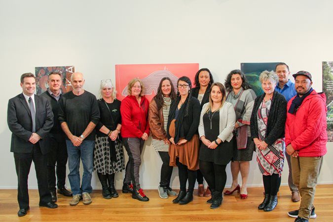 Creative Northland signing to boost the arts