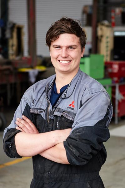 Brad Crosbie - Automotive Apprentice