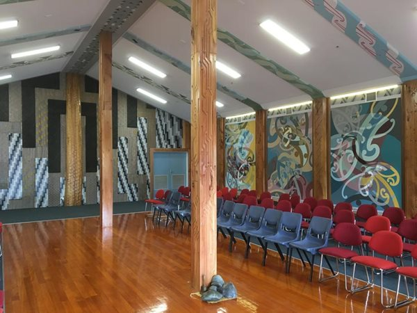 Contemporary Whare Wows Visitors at Opening Ceremony