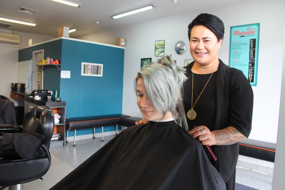 Hairdressing graduate heads off for cruise job