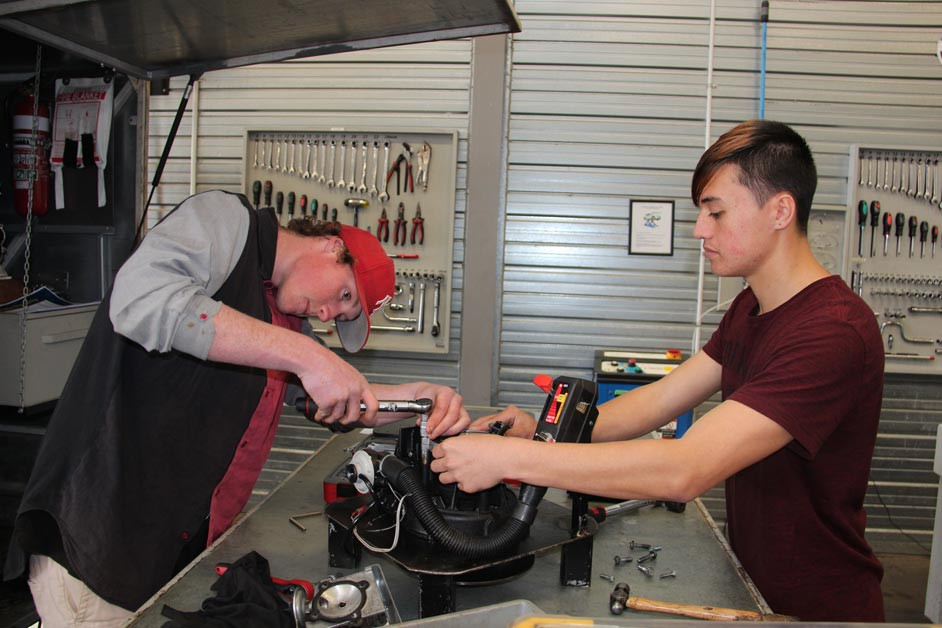 School students enjoy a taste of trades