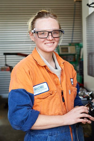 Eden Webber - Machining Apprentice